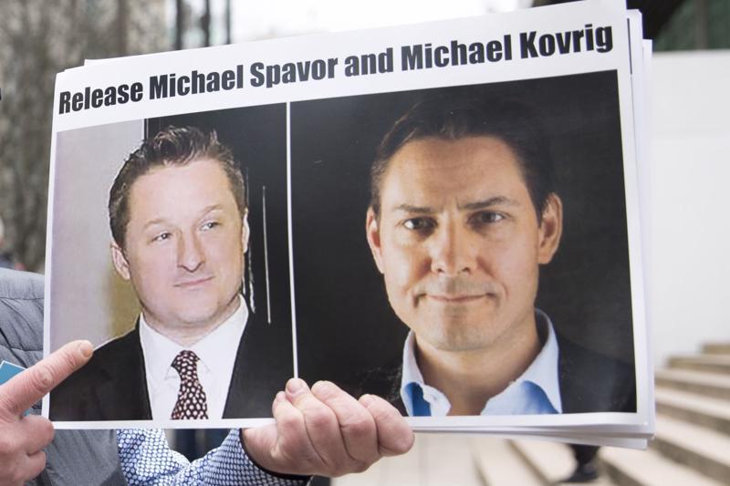 Hai công dân Canada Michael Spavor và Michael Kovrig bị Trung Quốc bắt giữ - Ảnh: Getty/Bloomberg.