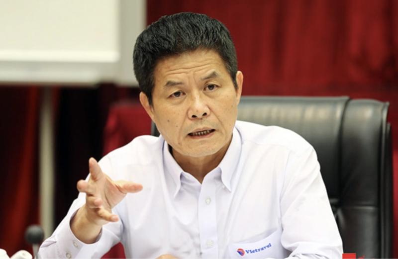 Ông Nguyễn Quốc Kỳ, Chủ tịch HĐQT Công ty Cổ phần Du lịch và Tiếp thị Giao thông vận tải Việt Nam (Vietravel).