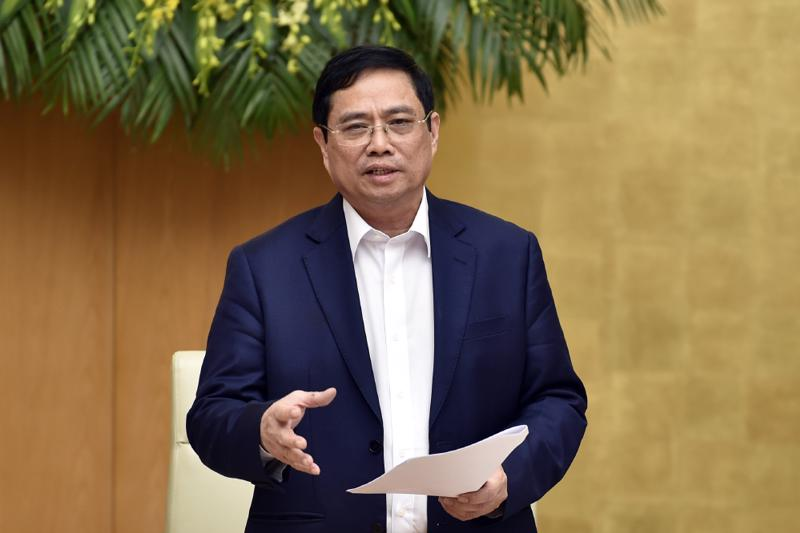 Thủ tướng Phạm Minh Chính làm Chủ tịch Ủy ban Quốc gia về chuyển đổi số - Ảnh VGP.
