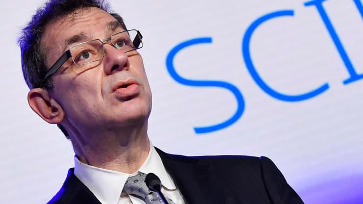 CEO Albert Bourla của Pfizer - Ảnh: Reuters.