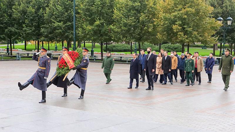 Bộ trưởng Ngoại giao Bùi Thanh Sơn thăm Nga theo lời mời của Bộ trưởng Ngoại giao Nga Sergei Lavrov - Ảnh: Bộ Ngoại giao.