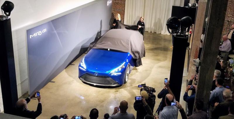 Toyota Mirai, mẫu xe hydrogen của Toyota