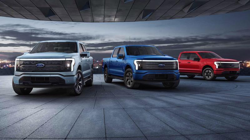 Ford dự kiến ra mắt xe bán tải điện F-150 Lightning vào mùa xuân tới - Ảnh: Motor Trend