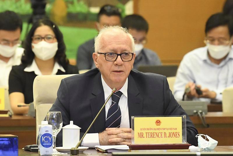 Mr. Terence D. Jones, Resident Representative of the United Nations Development Program (UNDP).