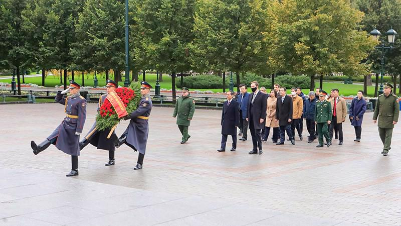 Foreign Minister Bui Thanh Son in Russia. Source: MoFA