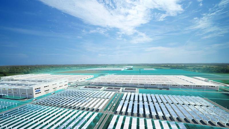 Ford và đối tác pin Hàn Quốc SK Innovation vừa tiết lộ kế hoạch xây dựng các siêu nhà máy, khai trương vào năm 2025.