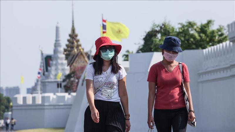 Ngành du lịch Thái Lan chịu ảnh hưởng nghiêm trọng bởi đại dịch Covid-19 - Ảnh: Rueters