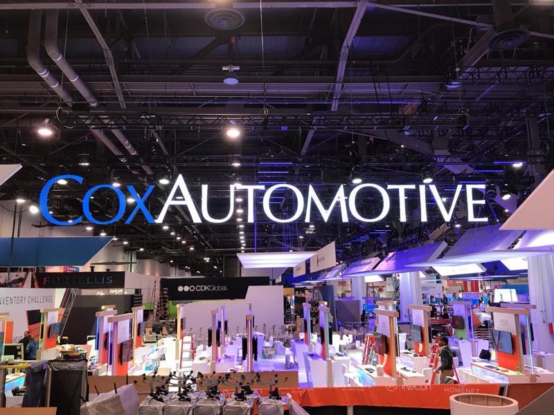 Cox Automotive trong triển lãm năm 2020.