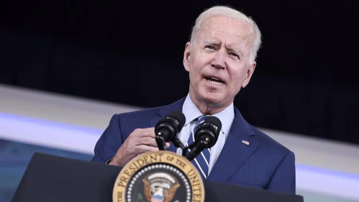 Tổng thống Mỹ Joe Biden - Ảnh: Getty/CNBC.