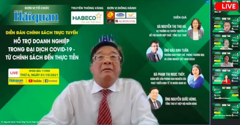 TS. Nguyễn Quốc Hùng, Tổng Thư ký Hiệp hội Ngân hàng Việt Nam