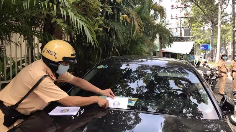 Xe vi phạm giao thông vẫn được đăng kiểm song chỉ được cấp chứng nhận đăng kiểm với thời hạn 15 ngày/lần. Ảnh minh họa