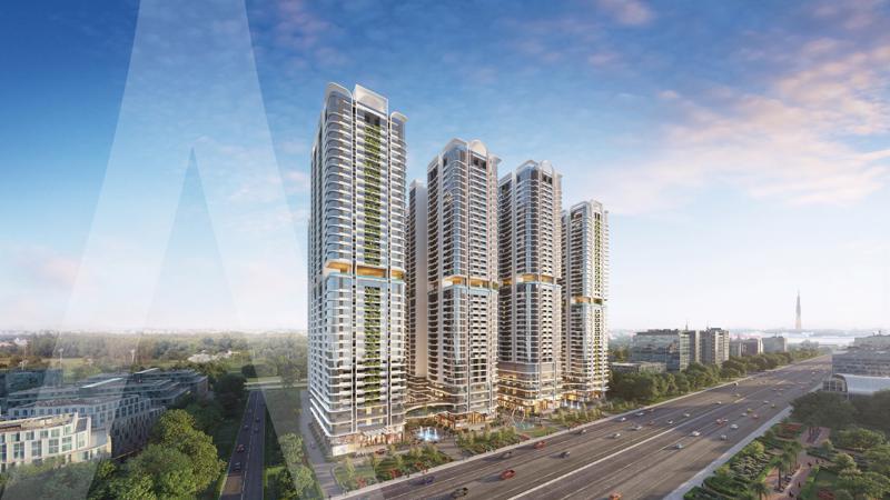 Dự án Phức hợp thương mại & căn hộ cao cấp Astral City