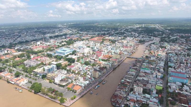 TP. Mỹ Tho, tỉnh Tiền Giang thuộc khu vực miền Tây Nam Bộ.