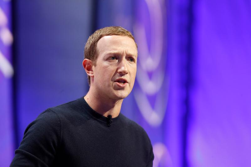 Mark Zuckerberg, người đồng sáng lập Facebook - Ảnh: Getty Images