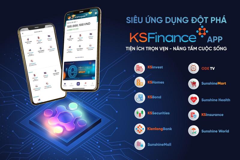 Siêu ứng dụng KSFinance mang đến một hệ sinh thái các sản phẩm và dịch vụ đa dạng, đáp ứng mọi nhu cầu cơ bản của khách hàng.