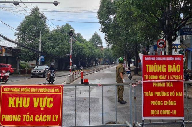 Rất nhiều khu công nghiệp ở Đồng Nai bị ảnh hưởng nặng nề bởi lệnh phong tỏa vì dịch Covid-19