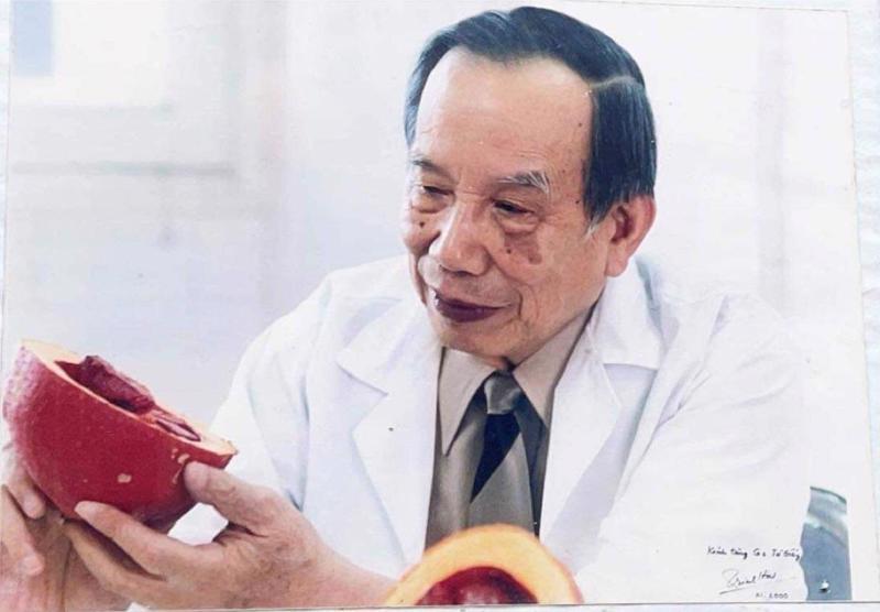 Giáo sư Từ Giấy, nhà dinh dưỡng hàng đầu châu Á, nhà báo, nhà giáo uyên bác.