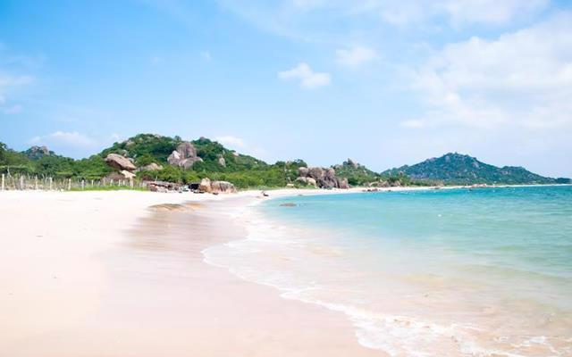 Bãi biển Hải Tiến được đánh giá đẹp bậc nhất Thanh Hóa. Ảnh Shutterstock.