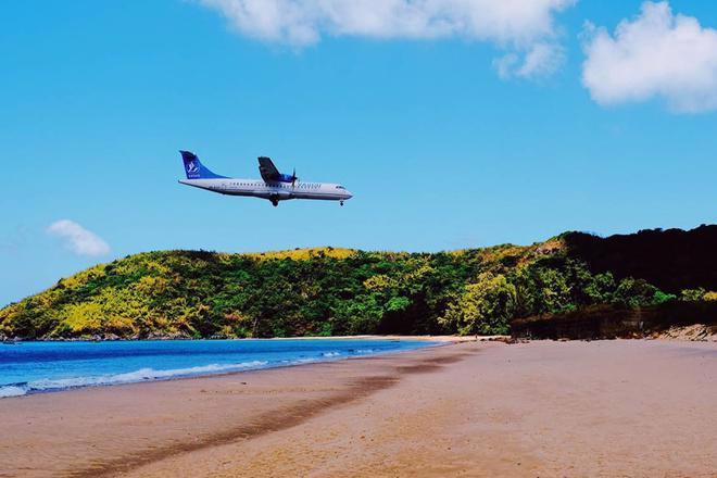 Hiện Cảng hàng không Côn Đảo chỉ khai thác loại máy bay nhỏ như ATR-72 và tương đương.