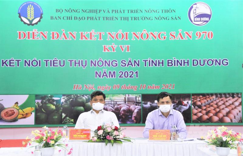 """Thứ trưởng Trần Thanh Nam chủ trì Diễn đàn tại đầu cầu"""" Hà Nội."""