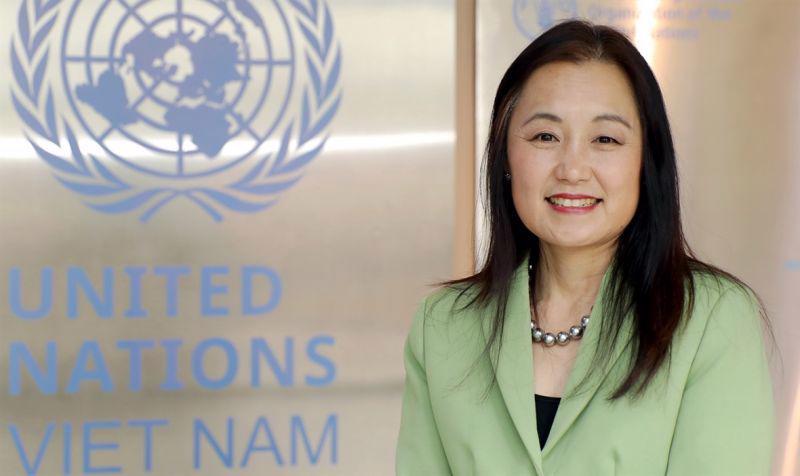 Ms. Naomi Kitahara, UNFPA Representative in Vietnam