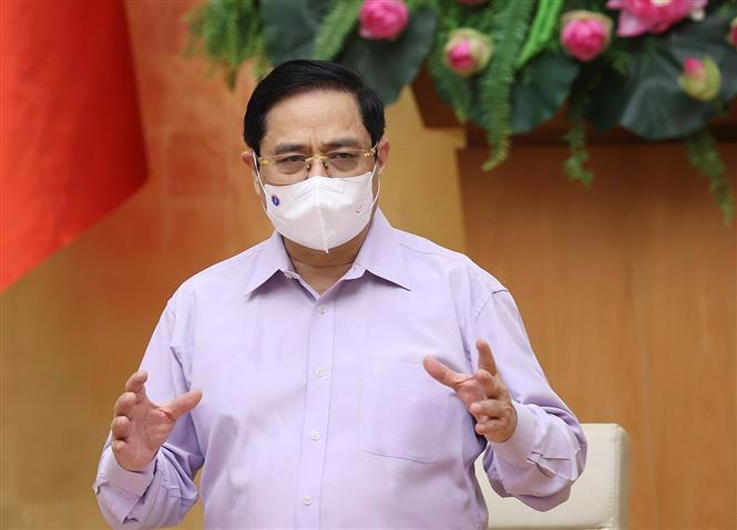 Prime Minister Pham Minh Chinh. Source: VGP
