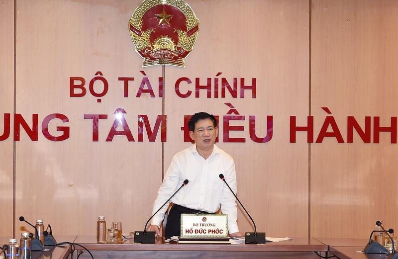 Tổ công tác do Bộ trưởng Bộ Tài chính Hồ Đức Phớc làm Tổ trưởng thường trực.