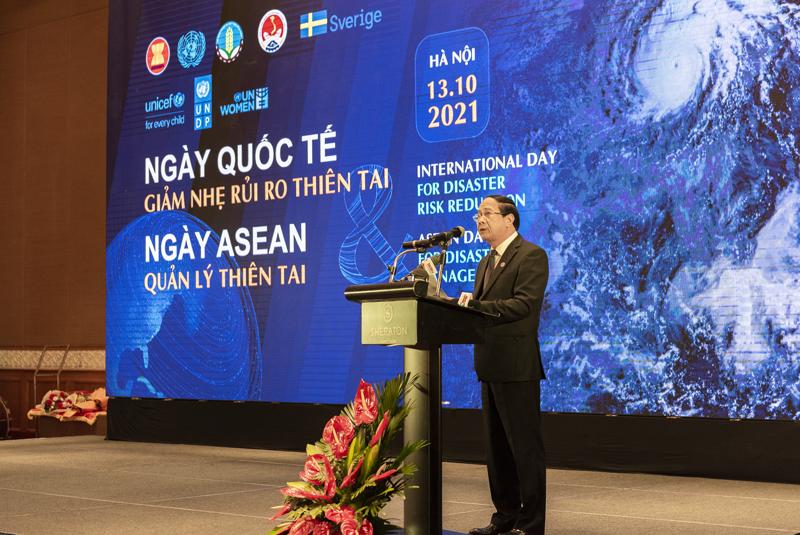 Phó Thủ tướng Lê Văn Thành phát biểu tại sự kiện.