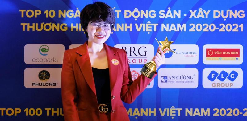 Sunshine Group được vinh danh trong Top 10 Thương hiệu mạnh Việt Nam ngành Bất động sản - Xây dựng.