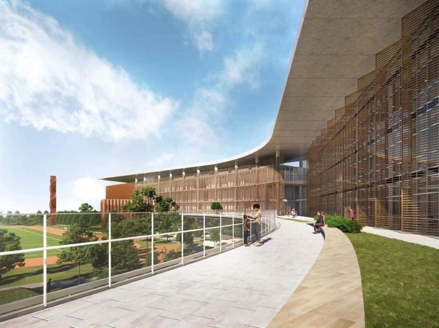Sắp khai trương Trường quốc tế từng được Tổng thống Mỹ chọn đào tạo cho con tại Ecopark - Ảnh 1.