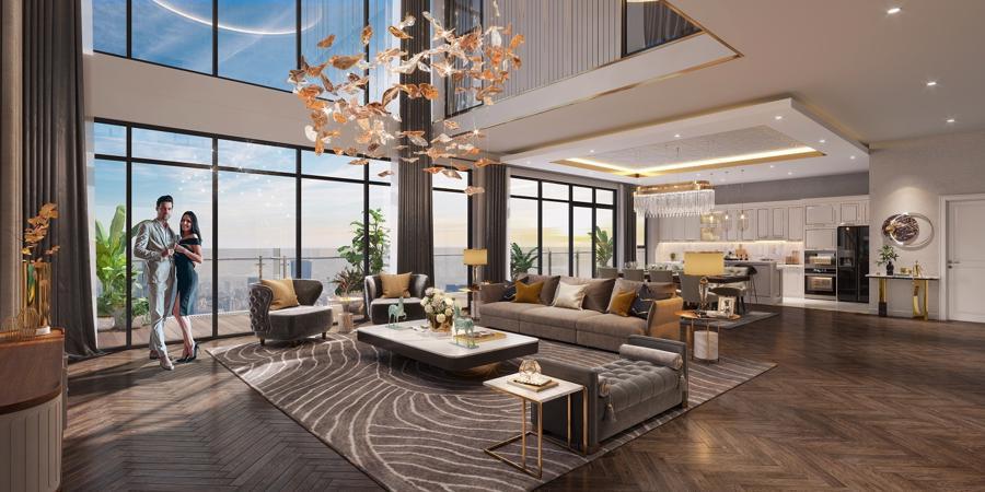 MIKGroup mang phong cách Mỹ xa hoa vào khu nhà giàu mới tại Mỹ Đình - Ảnh 2.