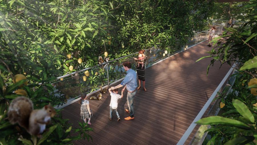Cư dân Ecopark ngồi nhà ngắm suối chảy, thác đổ trong rừng - Ảnh 8.