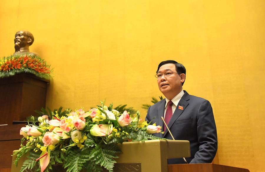 Bế mạc kỳ họp cuối cùng của Quốc hội khóa 14 - Ảnh 1.