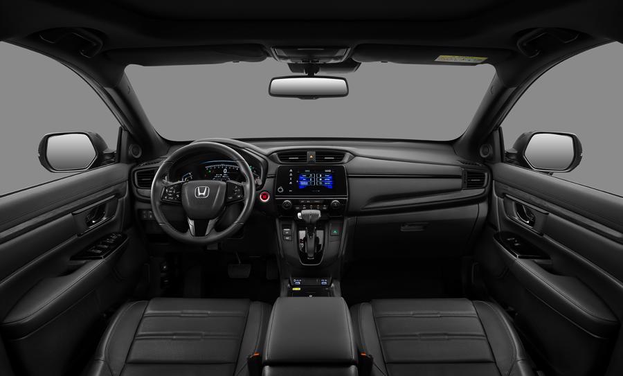 Khoang nội thất của phiên bản đặc biệt Honda CR-V LSE 2021.