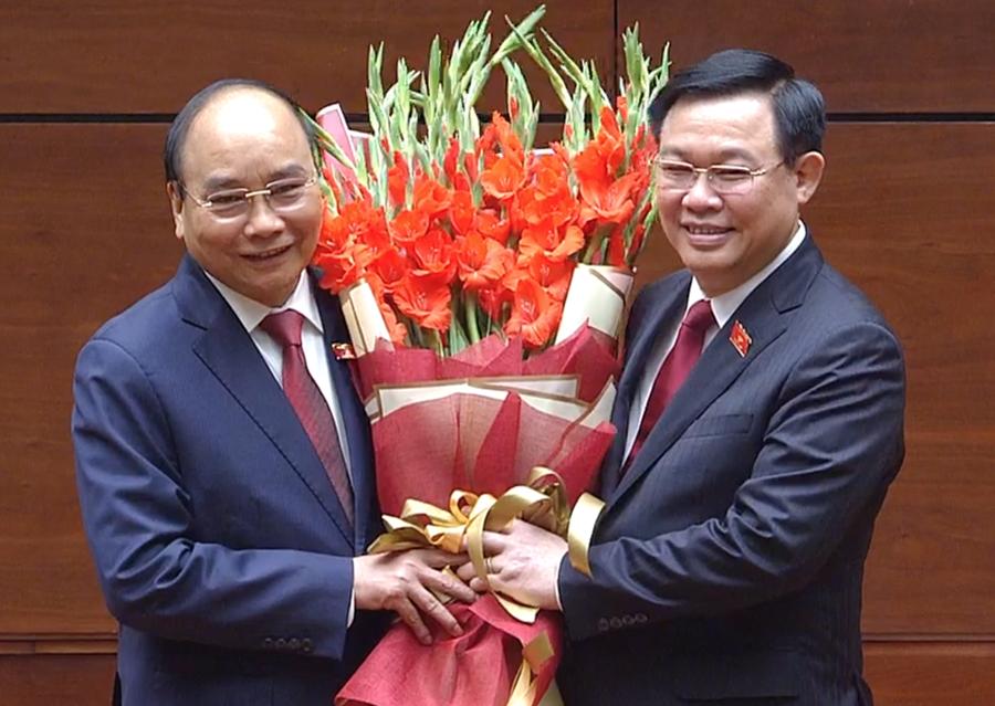 Ông Nguyễn Xuân Phúc được bầu làm Chủ tịch nước - Ảnh 1.