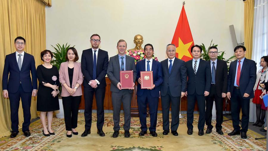 FTA giữa Việt Nam và Anh chính thức có hiệu lực từ 1/5 - Ảnh 1.
