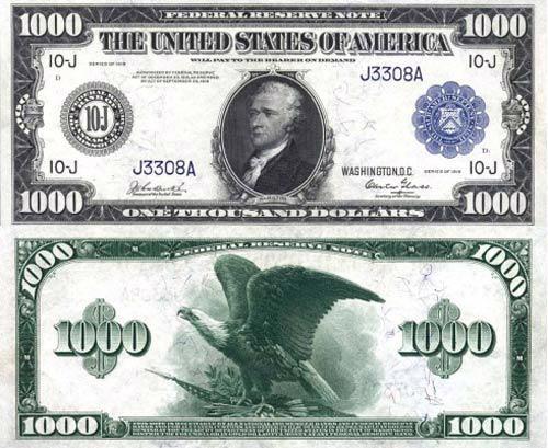 Đồng USD mệnh giá lớn nhất là bao nhiêu? 4