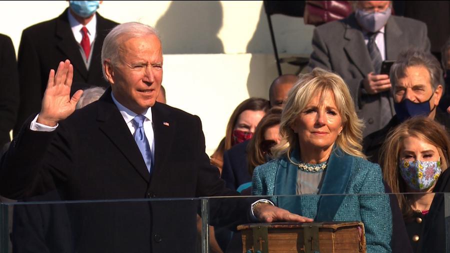 Toàn cảnh lễ nhậm chức đặc biệt của tân Tổng thống Mỹ Joe Biden - Ảnh 10
