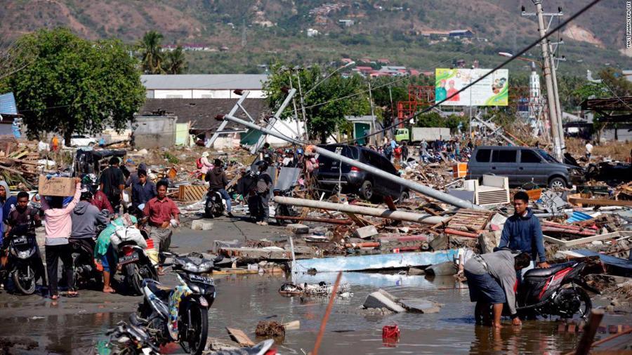 Động đất, sóng thần tại Indonesia: Hàng nghìn người có thể đã thiệt mạng - Ảnh 2.