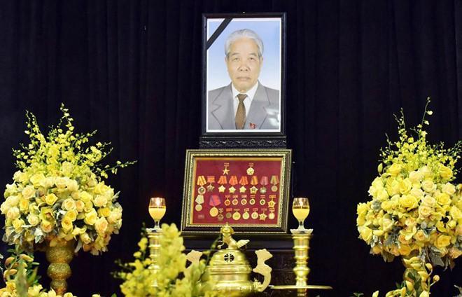 Hình ảnh lễ viếng nguyên Tổng bí thư Đỗ Mười - Ảnh 1.