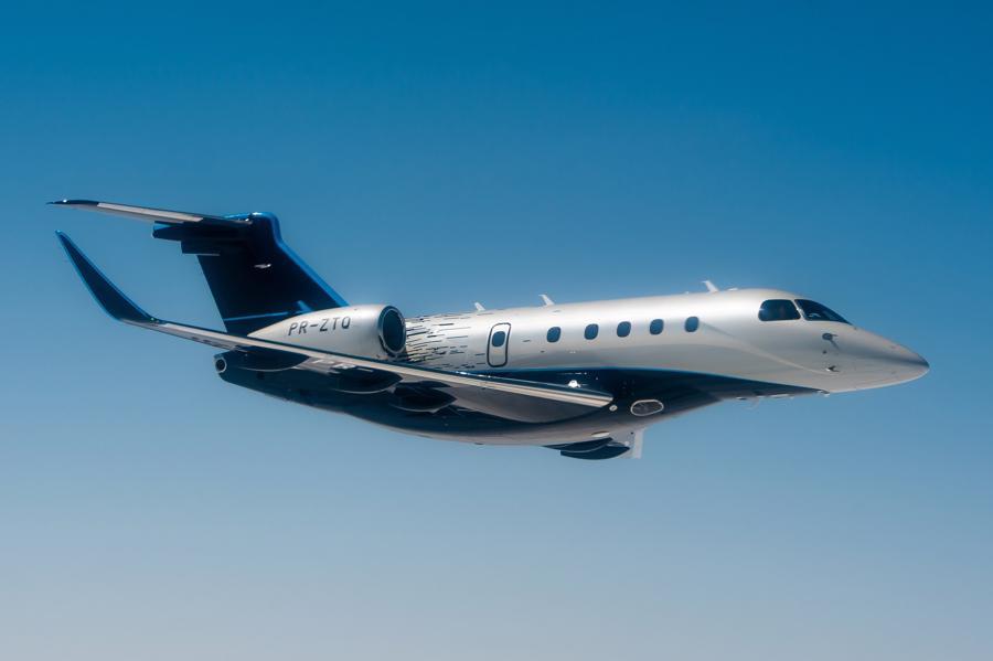 Máy bay cá nhân với nội thất lấy cảm hứng từ bãi biển Brazil - Ảnh 1.
