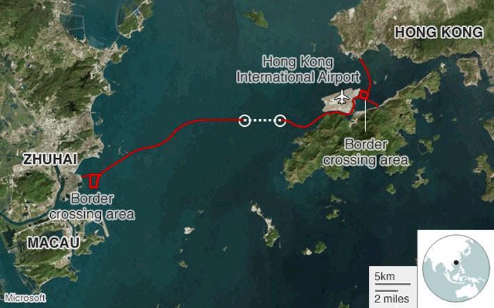 Trung Quốc khai trương cầu vượt biển dài nhất thế giới - Ảnh 1.