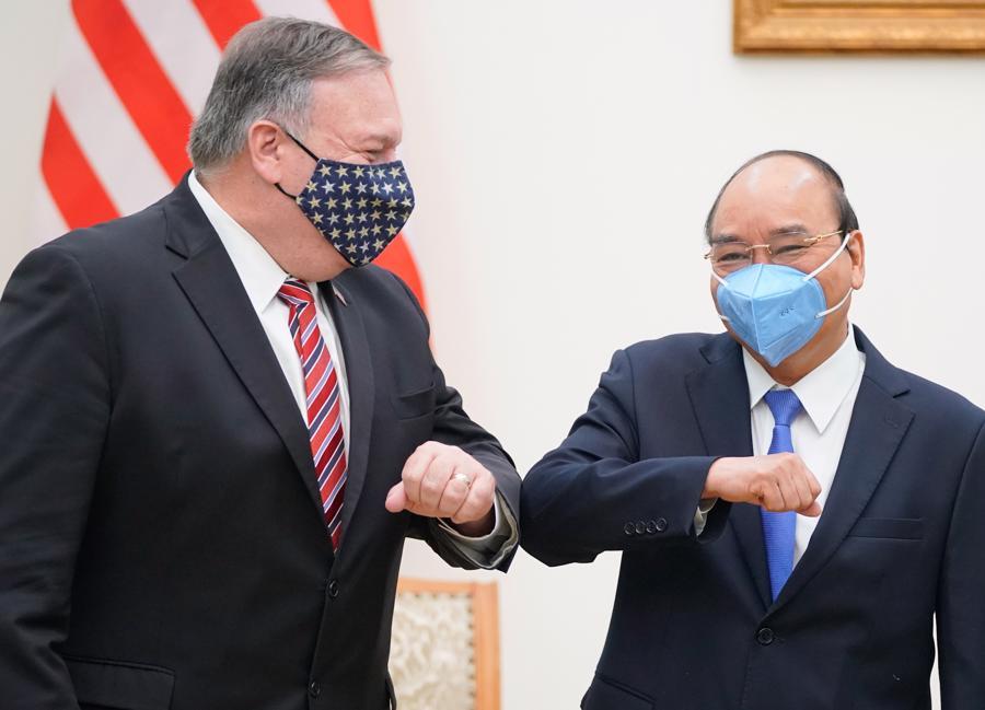 Ngoại trưởng Mỹ Michael Pompeo thăm chính thức Việt Nam - Ảnh 1.