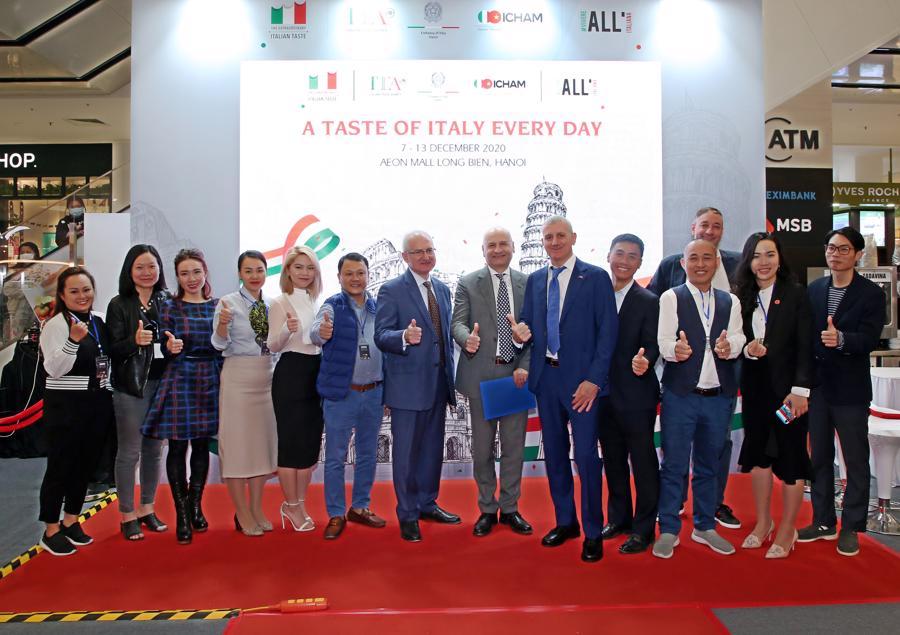 Chính thức diễn ra Tuần lễ Ẩm Thực Ý 2020 tại Hà Nội - Ảnh 1.