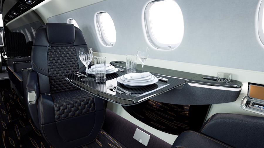 Máy bay cá nhân với nội thất lấy cảm hứng từ bãi biển Brazil - Ảnh 9.