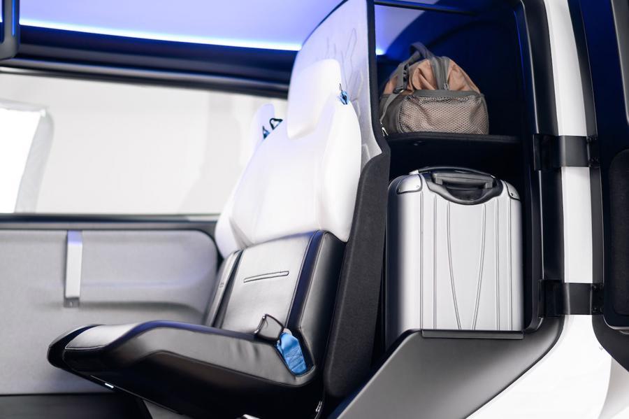 Cận cảnh nội thất taxi bay chở khách đầu tiên của Uber - Ảnh 9.