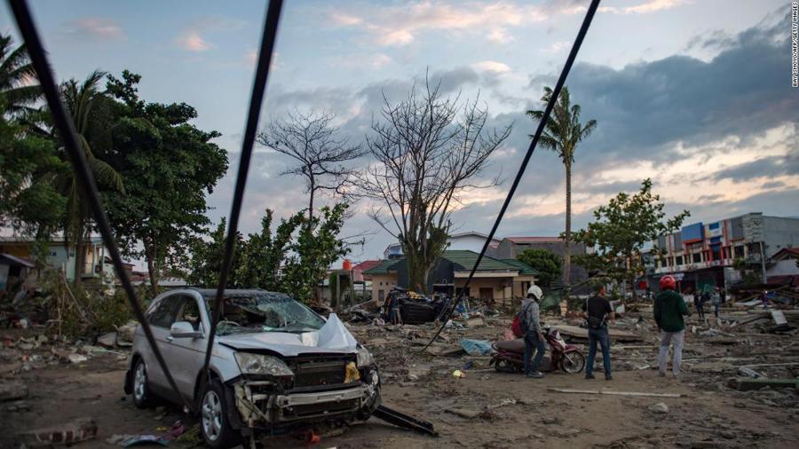 Động đất, sóng thần tại Indonesia: Hàng nghìn người có thể đã thiệt mạng - Ảnh 10.