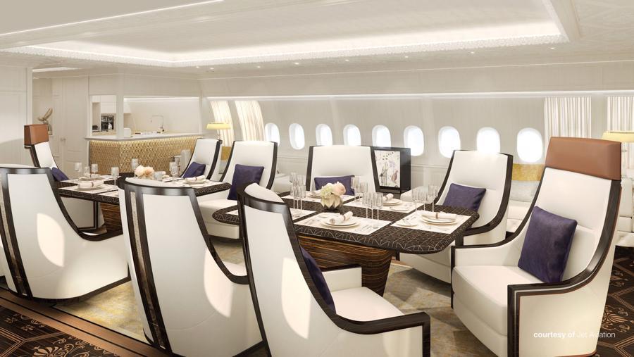 Bên trong máy bay cá nhân 400 triệu USD của Boeing - Ảnh 8.