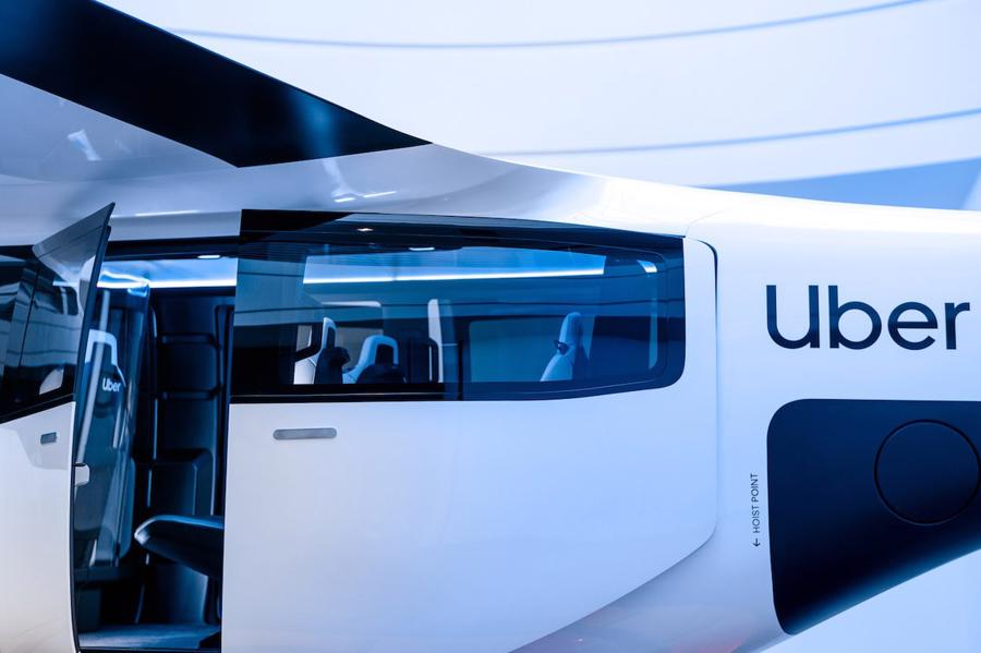 Cận cảnh nội thất taxi bay chở khách đầu tiên của Uber - Ảnh 10.