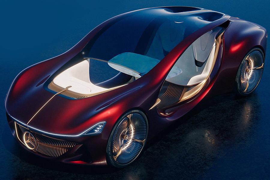 Siêu xe tự lái tương lai của Mercedes-Benz - Ảnh 10.